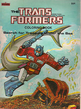 TRANSFORMERS COLORING BOOK (1984) Marvel Books (nothing colored inside!)... - £11.34 GBP