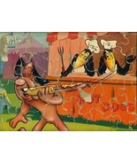 1950's TerryToon HECKLE & JECKLE Frame Tray Puzzle - $9.89