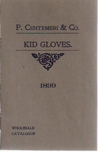 1899 P. CENTEMERI & COMPANY (French import) Kid Gloves small wholesale c... - $9.89