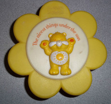 CARE BEARS Plastic Trinket/Jewelry Box (1983) American Greetings [Hong K... - $9.89