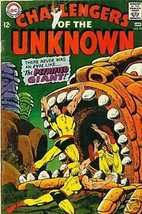 CHALLENGERS OF THE UNKNOWN #59 (1968) DC Comics    3.0 - $9.89