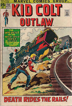 KID COLT OUTLAW #156 (1971) Marvel Comics western - $9.89