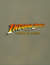 INDIANA JONES & TEMPLE OF DOOM pre-release 1984 4-page color promotional... - $9.89