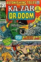 ASTONISHING TALES #3 (1970) Marvel Comics Smith & Wood~ - $9.89