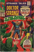 Strange Tales #160 (1967) Marvel Comics Jim Steranko Shield Severin Vg+/F  - $29.69
