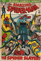 AMAZING SPIDER-MAN #105 (1972) Marvel Comics Gil Kane VG+/FINE - $24.74