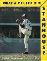 BALTIMORE ORIOLES 1979 Program (Mariners) Stanhouse cover - $9.89
