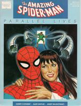 AMAZING SPIDER-MAN Parallel Lives (1989) Marvel Graphic Novel - $11.87