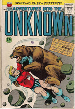 ADVENTURES INTO THE UNKNOWN #159 (1965) ACG Comics NEMESIS VG/VG+ - $9.89