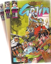 GOJIN lot (3) issues #1 #2 #3 (1995>) Antarctic Press comics - $9.89