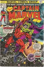 CAPTAIN MARVEL #43 (1976) Marvel Comics Drax the Destroyer VG+/FINE- - $9.89