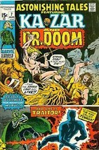 ASTONISHING TALES #7 (1971) Marvel Comic KaZar Dr Doom~ - $9.89