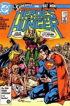 HEROES AGAINST HUNGER (DC Comics, 1986) NM! ~ Superman - $1.50