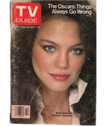 TV GUIDE April 7 1979 Maren Jensen of Battlestar Galactica cover/article - $9.89