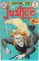 JUSTICE INC. #1 The Avenger by Kenneth Robeson (1975) DC Comics FINE+ - $9.89