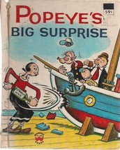 POPEYE'S BIG SURPRISE illustrated by Bud Sagendorf (1976) Wonder Books HC - $9.89