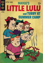 Marge's LITTLE LULU & TUBBY #189 At Summer Camp (1968) Gold Key Comics VG+ - $14.84