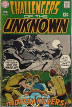 CHALLENGERS OF THE UNKNOWN #67 (1969) DC Comics    VG+ - $9.89