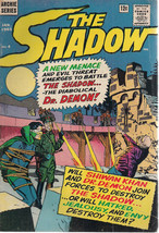 THE SHADOW #4 (1965) Archie Radio Comics  VG+ - $12.86