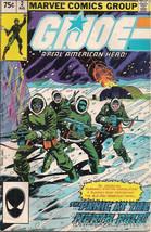 G.I. JOE #2 (1982) Marvel Comics VG - $9.89
