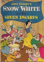 SNOW WHITE AND THE SEVEN DWARFS (1952) Dell Four Color Comics #382 G/VG - $14.84