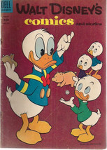 WALT DISNEY'S COMICS AND STORIES #174 (1955) Dell Comics Carl Barks art VG+ - $9.89