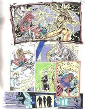 Clive Barker HYPERKIND #8 pg20 original hand-painted color guide art 1995 signed - $24.74
