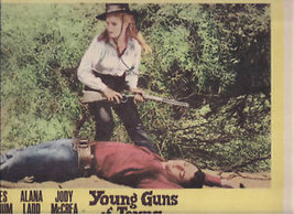 YOUNG GUNS OF TEXAS Mitchum Ladd (1962) 8 Lobby Cards - $29.69