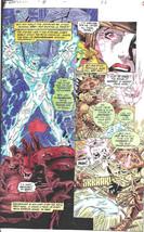 Clive Barker HYPERKIND #8 pg 2 original hand-painted color guide art 1995 signed - $24.74