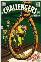 CHALLENGERS OF THE UNKNOWN #64 (1968) DC Comics    4.5 - $9.89