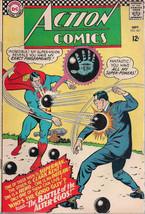 ACTION COMICS #341 SUPERMAN (1966) DC Comics BATMAN appearance VG-FINE - $14.84