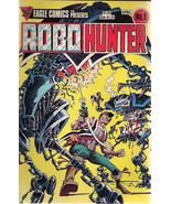 ROBO HUNTER lot of (4) issues #1 #2 #3 #5 (1984) Eagle Comics VG+/FINE- - $9.89