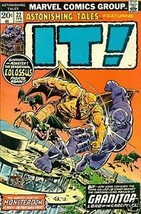 ASTONISHING TALES #22 (1974) Marvel Comics It! ~ - $9.89