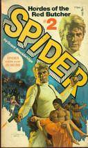 SPIDER #2 Hordes of the Red Butcher by Grant Stockbridge (1975) Pocket B... - $9.89
