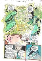 Clive Barker HYPERKIND #8 pg13 original hand-painted color guide art 1995 signed - $24.74