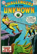CHALLENGERS OF THE UNKNOWN #44 (1965) DC Comics  VG+ - $24.74