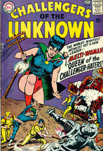 CHALLENGERS OF THE UNKNOWN #45 (1965) DC Comics  VG+ - $24.74
