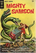 MIGHTY SAMSON #14 (1968) Gold Key Comics FINE- - $9.89