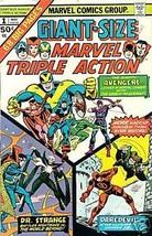 GIANT-SIZE MARVEL TRIPLE ACTION #1 (1975) Marvel Comic~ - $9.89