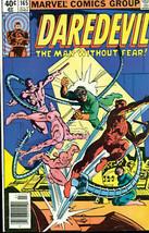 DAREDEVIL #165 (1980) Marvel Comics Frank Miller FINE - $14.84