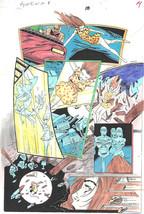 Clive Barker HYPERKIND #8 pg10 original hand-painted color guide art 1995 signed - $24.74