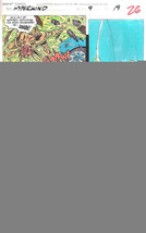 Clive Barker HYPERKIND #9 pg19 original hand-painted color guide art 1995 signed - $24.74