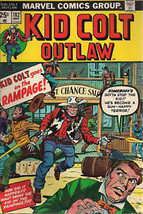 KID COLT OUTLAW #182 & #188 (1974) Marvel Comics VG-F - $9.89