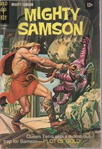 MIGHTY SAMSON #15 (1968) Gold Key Comics FINE- - $9.89