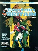 CAPTAIN BRITAIN Magazine #4 (1985) Marvel UK glossy - $9.89