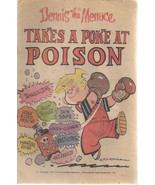 DENNIS THE MENACE Takes a Poke at Poison (1981) promotional comic book VG+ - $9.89