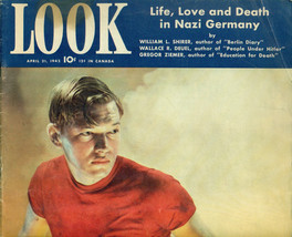 LOOK tabloid Magazine April 21 1942 Life, Love & Death in Hitler's Germany - $14.84