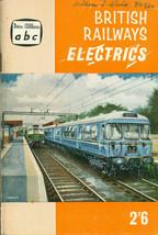 BRITISH RAILWAYS ELECTRICS (1960) Ian Allan ABC pocket-size illustrated SC - $14.84