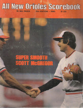 1980 BALTIMORE ORIOLES Scorebook 52-pages - $9.89
