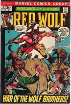 RED WOLF #3 (1972) Marvel Comics Gardner Fox story VG+/FINE- - $9.89